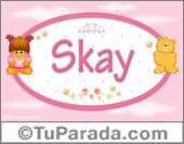 Nombre Nombre para bebé, Skay