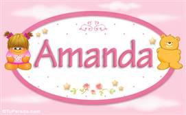 Amanda - Nombre para bebé