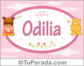 Nombre Nombre para bebé, Odilia