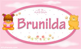 Brunilda - Nombre para bebé