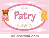 Patry - Nombre para bebé