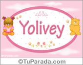 Nombre Nombre para bebé, Yolivey