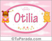 Otilia - Nombre para bebé