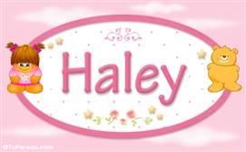 Haley - Nombre para bebé