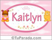Kaitlyn - Nombre para bebé