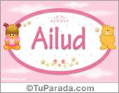 Ailud - Nombre para bebé