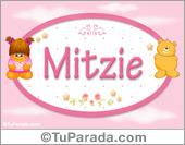 Nombre Nombre para bebé, Mitzie
