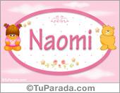 Nombre Nombre para bebé, Naomi