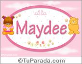Nombre Nombre para bebé, Maydee