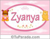 Zyanya - Nombre para bebé