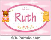 Ruth - Nombre para bebé
