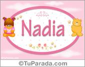 Nadia - Nombre para bebé