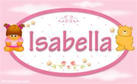 Isabella - Nombre para bebé