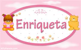 Enriqueta - Nombre para bebé