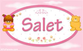Salet - Nombre para bebé