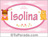 Nombre Nombre para bebé, Isolina