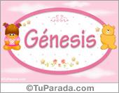 Nombre Nombre para bebé, Génesis