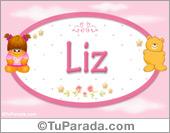 Liz - Nombre para bebé