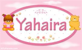 Yahaira - Nombre para bebé