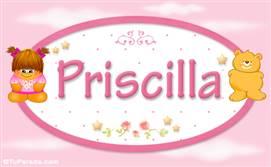 Priscilla - Nombre para bebé