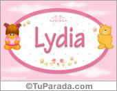 Nombre Nombre para bebé, Lydia