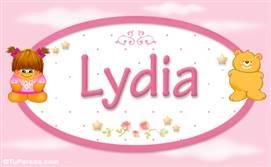Lydia - Nombre para bebé