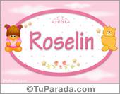 Nombre Nombre para bebé, Roselin