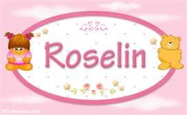 Roselin - Nombre para bebé
