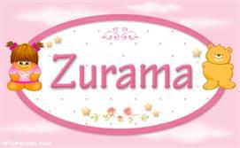 Zurama - Nombre para bebé