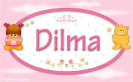 Dilma - Nombre para bebé