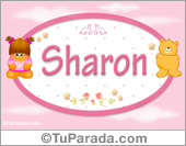 Nombre Nombre para bebé, Sharon