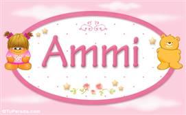Ammi - Nombre para bebé