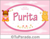 Nombre Nombre para bebé, Purita