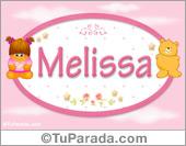 Nombre Nombre para bebé, Melissa