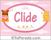 Nombre Nombre para bebé, Clide