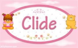 Clide - Nombre para bebé