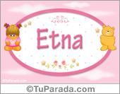 Etna - Nombre para bebé