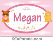 Nombre Nombre para bebé, Megan