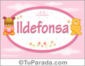 Ildefonsa - Nombre para bebé