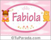 Fabiola - Nombre para bebé