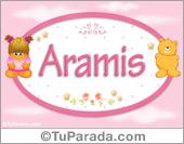 Nombre Nombre para bebé, Aramis