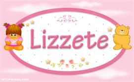 Lizzete - Nombre para bebé