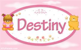 Destiny - Nombre para bebé