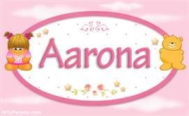 Aarona - Nombre para bebé