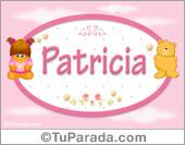 Nombre Nombre para bebé, Patricia
