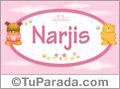 Nombre Nombre para bebé, Narjis