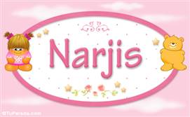 Narjis - Nombre para bebé