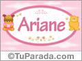 Ariane - Nombre para bebé