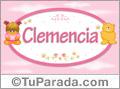 Clemencia - Nombre para bebé
