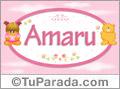 Amaru - Nombre para bebé